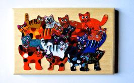 Petit puzzle chats