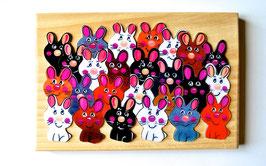 Petit puzzle lapins