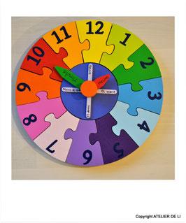Horloge puzzle
