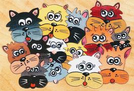 Petit puzzle droles de chats