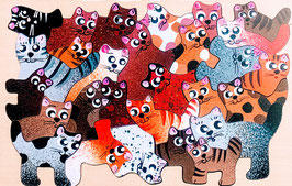 Petit puzzle chatons