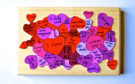Petit puzzle coeur 'je t'aime'