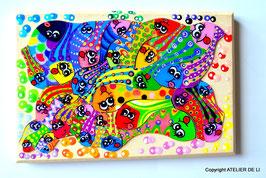 Petit puzzle poissons couleurs