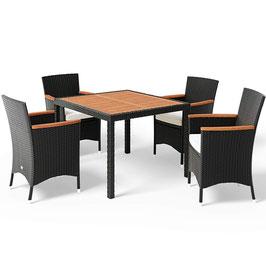 Poly Rattan 4+1 Sitzgruppe
