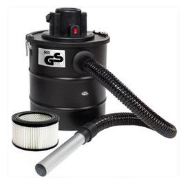 Aschesauger 1200W, Metallsaugschlauch + Filter + 1 Ersatzfilter