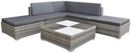 Polyrattan Sofa Lounge Gartengarnitur