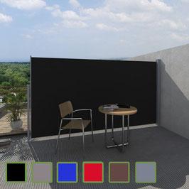 Terrasse Seitenmarkise viele Farben