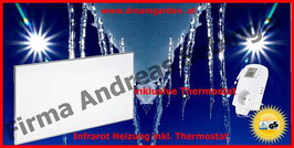 Infrarot-Heizplatte Infrarotheizung Heizpaneel inkl. Thermostat