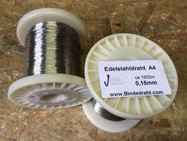 Edelstahldraht V4A 0,15mm