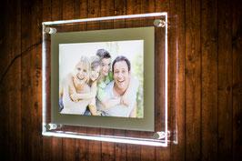 Ihr Bild im LED-Rahmen