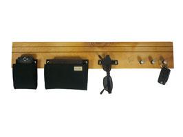 manufra - Schlüsselboard Holz Wildbirne