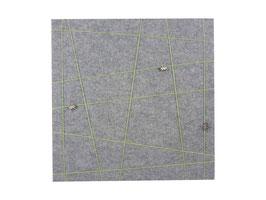 manufra – Memoboard quadratisch ca. 40 x 40 cm