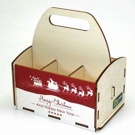 Merry Christmas - Renntiere - Weihnachtsmann