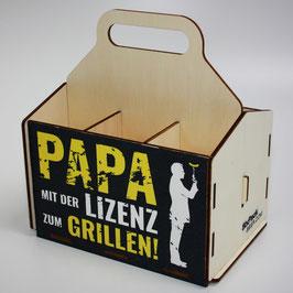 Papa mit der Lizenz zum Grillen!