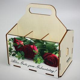 Alles Gute zum Geburtstag - 3 Rosen