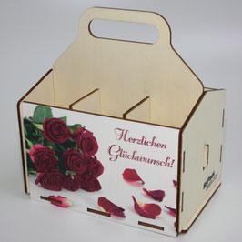 Herzlichen Glückwunsch - Rosenstrauß