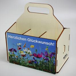 Herzlichen Glückwunsch - Blumenwiese