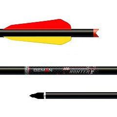 Armbrustbolzen Beman Carbon Crossbow-Hunter - 6 Stück