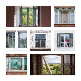 Grusskarte Fenster