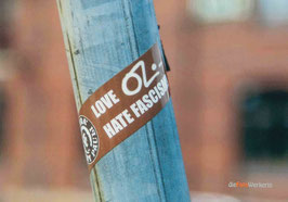 Love OZ. Hate Fascism