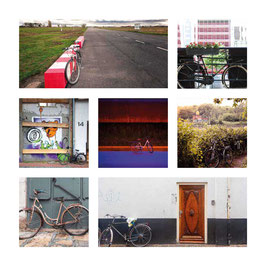 Grusskarte Fahrrad