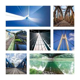 Grusskarte Brücken