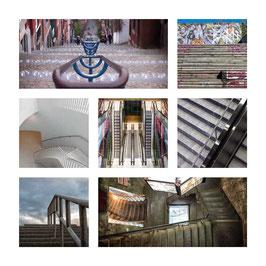 Grusskarte Treppen