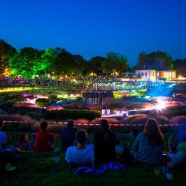 Bernepark bei Nacht