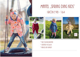 "Schnittmuster Mantel ""Spring Ding kids"" by nahttürlich handgemacht, Gr. 98 - 164"