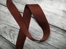 Gurtband braun 30 mm