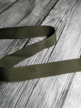 Gurtband oliv 30 mm