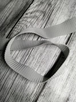 Gurtband hellgrau 30 mm