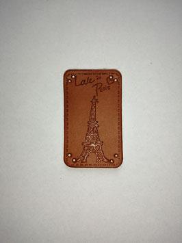 Kunstleder Label Love in Paris