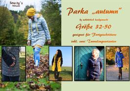 Schnittmuster Parka autumn Gr. 32 - 50