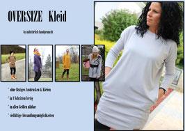 Oversize Kleid alle Größen, ohne Schnittmuster
