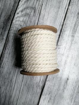 Baumwollkordel natur 4 mm