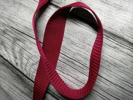 Gurtband bordeaux 30 mm