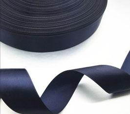 Satinband dunkelblau 15 mm