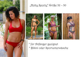 "Ebook ""Hotty Sporty"" by nahttürlich handgemacht Gr. 32 - 50"