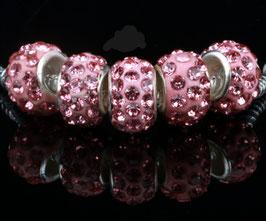 Glitzerperlen rosa