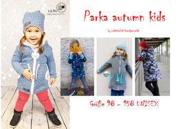 Schnittmuster Parka autumn kids Gr. 98 - 158