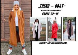 """Ebook """"Trend-coat"""" by nahttürlich handgemacht Gr. 32 - 48"""