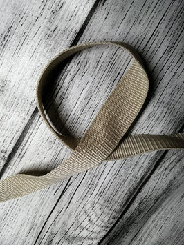 Gurtband beige 30 mm
