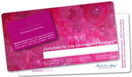 Gutschein - Astrologische Beratung