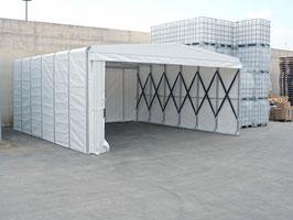 Box 2 mit Nylon-Rädern 5x4m