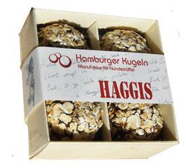 31 Haggis passend zu BARF-Konzept