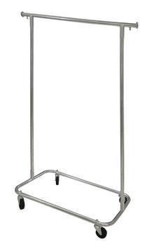 Rack para Ropa Mini de tubular de acero Cromado