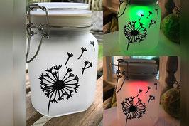 "LED-Solarlampe ""Pusteblume"""