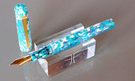 Stylo plume Pétrarque - Impressionniste Bleu