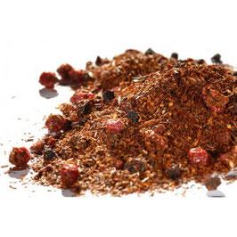 Mandarine Ingwer – Rotbuschtee aromatisiert